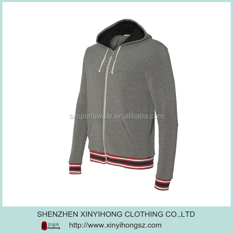 Famous Brand Pima Cotton Elastane Compressed Boy Hoodies With Hood Plus Size