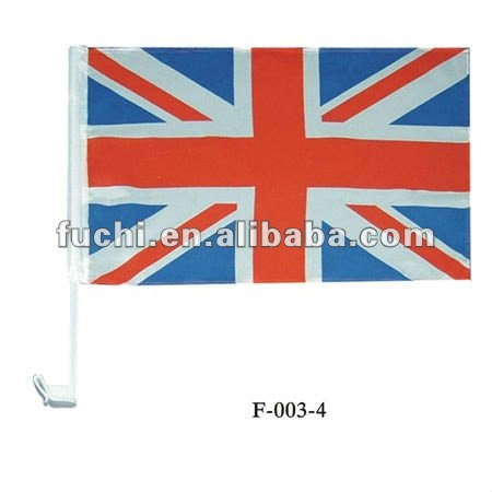 Polyester Union Jack Flag in Stock, Union Jack Car Flag In Stock
