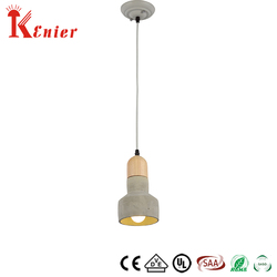 Factory Price Chinese Supplier Modern Ancient Light Concrete Pendant Lamps Vintage Cement Hanging light