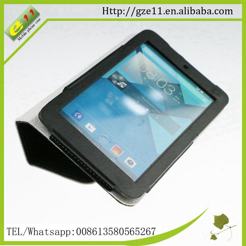 tablet flip cover case leather for Alactel one touch Pop7