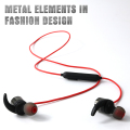 Bluetooth 4.0 Headphones HiFi Stereo Magnetic Earphones Earbuds with Built-in Mic and Wire Control R1615