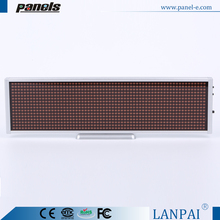 High brightness rechargeable full color programmable led moving sign