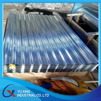 Steel manufacture roofing materials Galvanized sheet metal roofing price Corrugated galvanized zinc