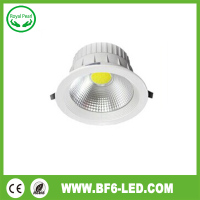 Hight power 18W 2 years warranty cob led downlight