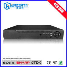 Besnt Security h.264 4ch CMS DVR standalone CCTV dvr P2P BS-T04L