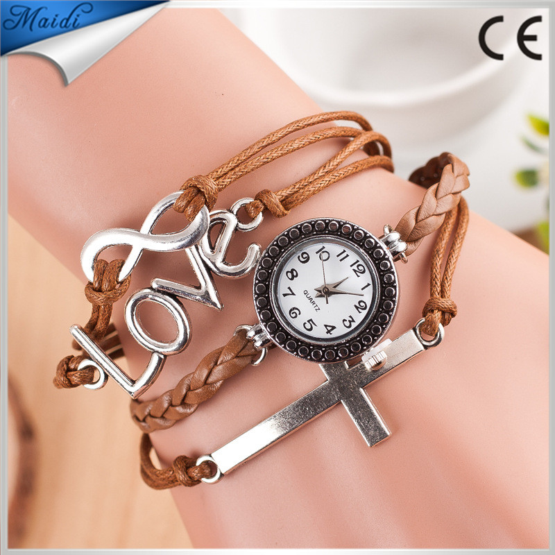 Wholesales reloj Fashion Vintage Ladies Wristwatch Low Price Brand Watch Factory China Handmade DIY Bangle Watch RW011