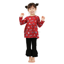 fall long sleeve wholesale kids clothes childrens boutique clothing