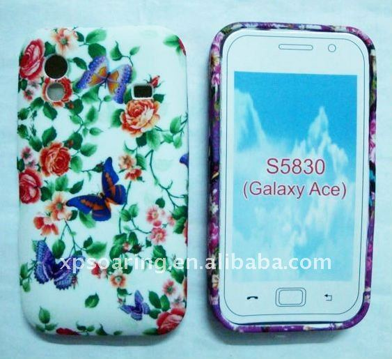 Fly TPU case skin back cover for Samsung S5830 Galaxy ACE