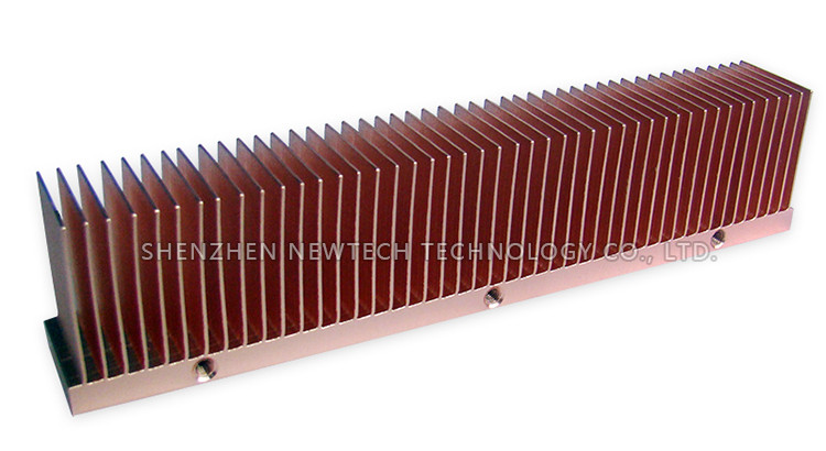 500W/1000w heatpipe IGBT/energy/Inverter project Skived large aluminum heat sink