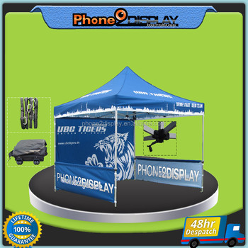 3*3 portable dye sublimation colourful printing folding canopy tent