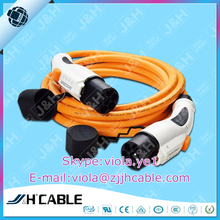 EV charging staiton 16A Type2 / IEC62196-2 Male EV Charging Plug male to male,electric vehicle car charging cable wire