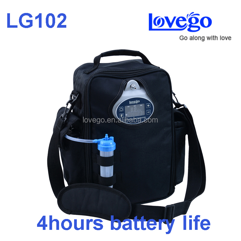 2016 Newest Lovego G2 mini portable oxygen concentrator