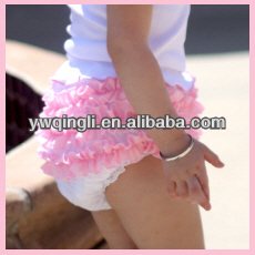Bloomers for Girls!! Colorful Nylon chiffon Ruffles Bloomers/Baby Shorts/diaper cover for Girls