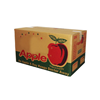 Specialized fresh fruit carton box apples / cardboard box for fruit and vegetable