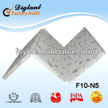 china cheap portable 3 foldable mattress (F10-N5)