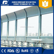 Light weight plexiglass sheets highway soundproof wall with great price