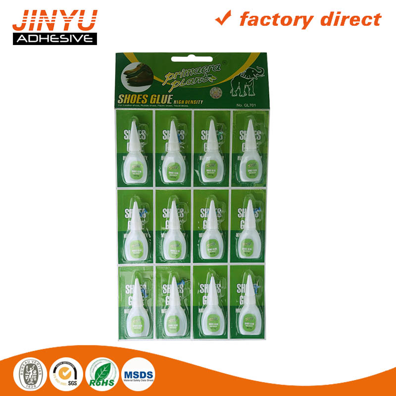 JY bulk cyanoacrylate rubber to steel adhesive glue