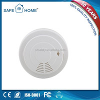 CE and EN14604 approved 9v battery operated smoke detector with a strobe light