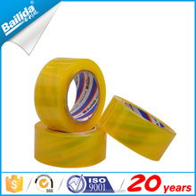 Beige transparent Bopp film carton sealing tape with free shipping
