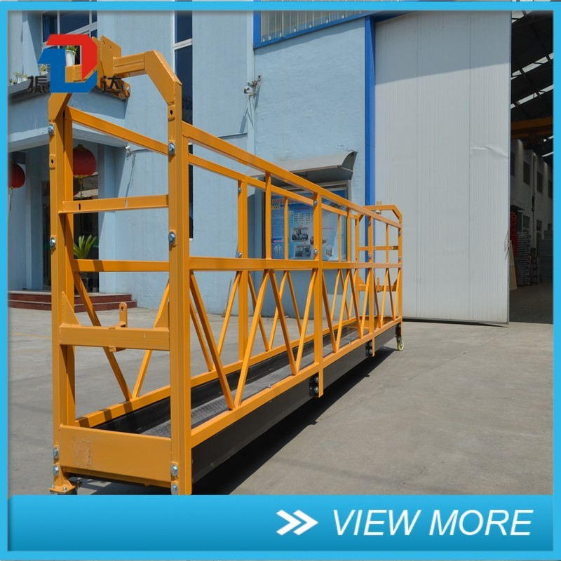 TOP Selling Aluminum Alloy Crane Work Platform for Window Glass Cleaning