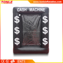 High quality inflatbale Black Cash Cube for sale