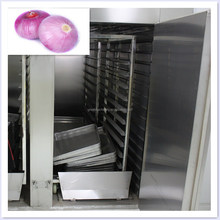 Factory directly sales stainless steel hot air circle various tray batch dryer for onion