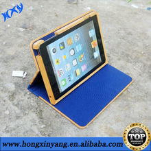 for iPad2/3/4 bamboo wood case ,tablet case with bracket