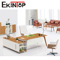 2016 modern latest office furniture l-shape office table models