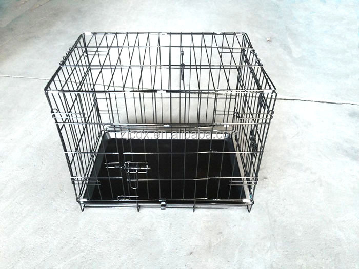 zinc dog cage for car