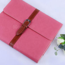 hot selling wallet style leather flip cover for ipad 4 folio leather case