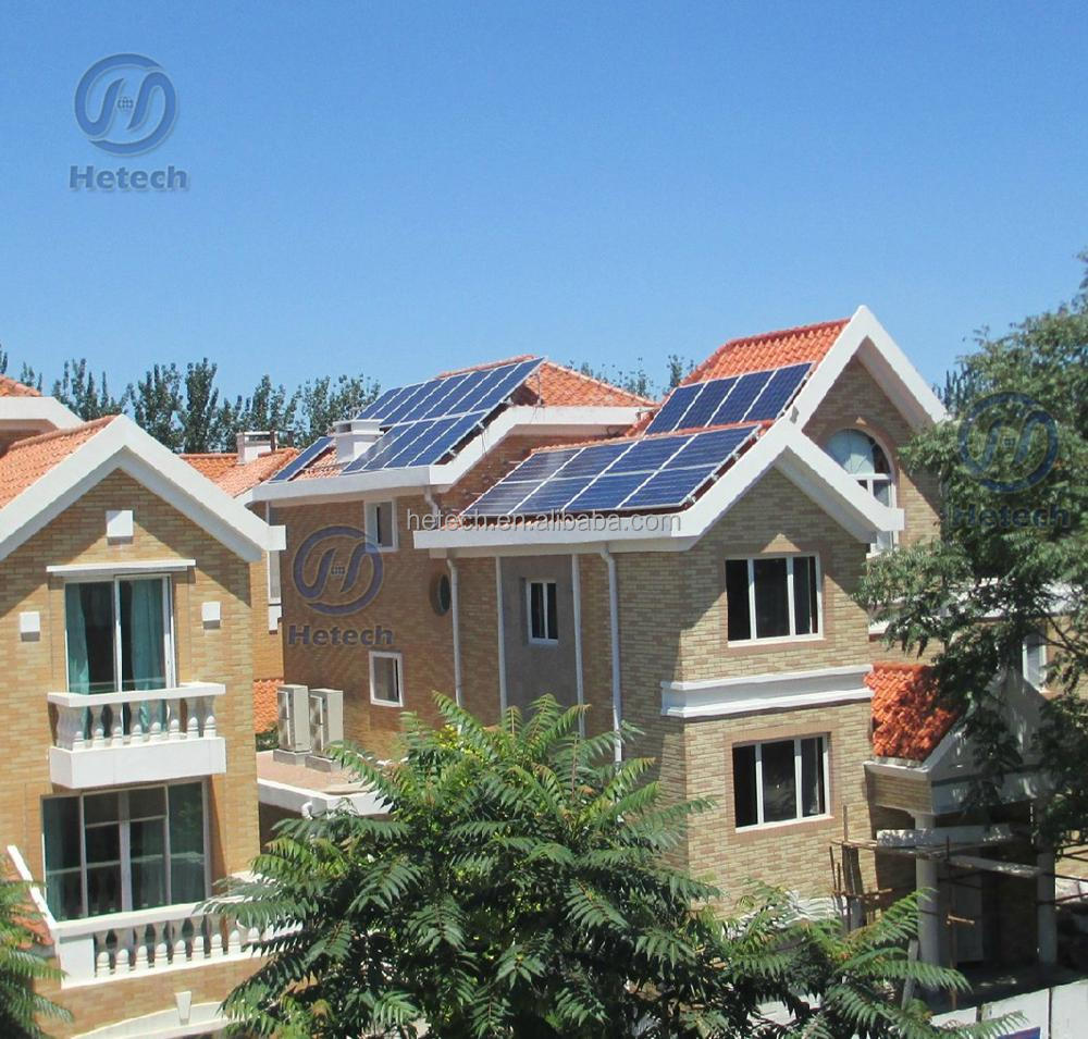 New technology products 3kw grid tie solar panel home system