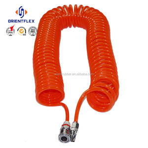 Wholesale price small diameter non twist air brake braided nylon tubing factory sale