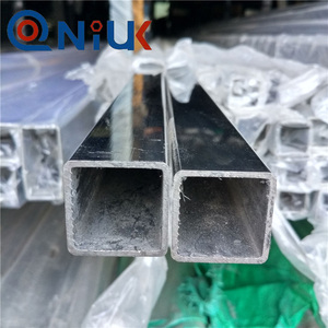 China manufacturer perforated with low price tube stainless steel square pipe
