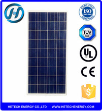 Solar Thermal Panel Photovoltaic 125W/ China pv Supplier Price Per Watt Solar Panel Sale