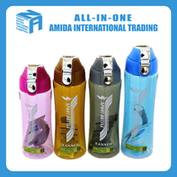 top grade crazy selling single wall plastic space bottle