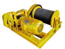 JM model construction site 20 ton electric winch for sale