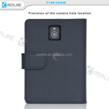 Classical protective leather shockproof wallet leather case for Blackberry passport