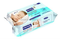 alcohol free skin care baby wet wipe
