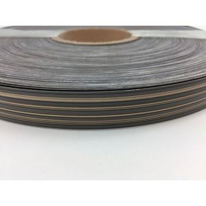 furniture grade high glossy PVC edge banding for particle board
