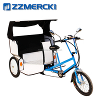 Electric passenger rickshaw tricycle for 3 people