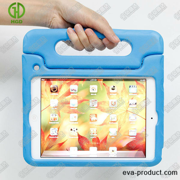 Blue color case for 7.9 inch tablet convertible handle for ipad mini 7.9 inch tablet case