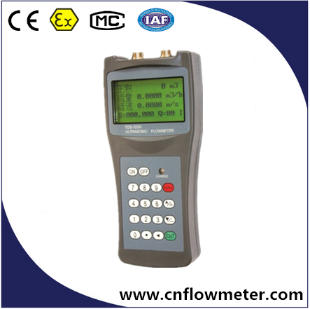 4-20mA output ultrasonic water flow meter for all liquid