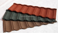 Your best roofing solution/Colorful stone coated metal roof tile