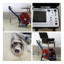 Underwater deep water well inspection camera 360 degree rotation underground borehole inspection camera