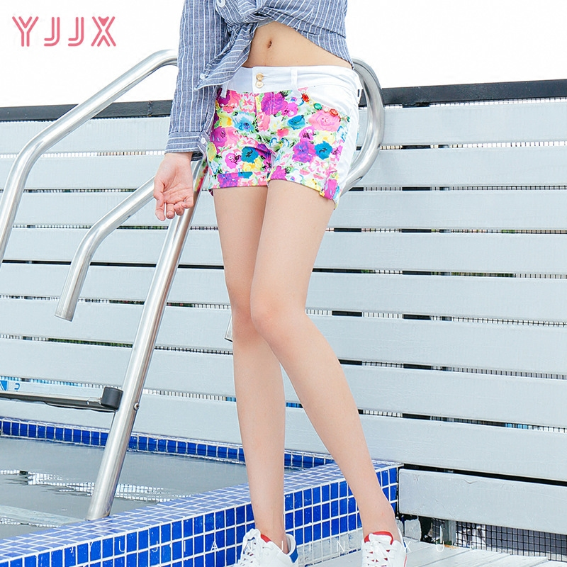Colorful desige lady hot short summer <strong>fashion</strong> women short jeans