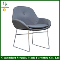 2016 Latest Design net back office chair with steel legs
