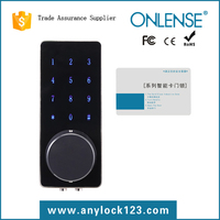 Touch screen keyless electronic digital lock
