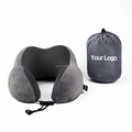 Multi-purpose headrest foam support travel foldable personalized air neck pillow