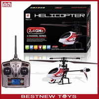 2.4G 4CH RC single-rotor helicopter