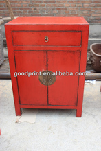 Chinese antique furniture beside Cabinet